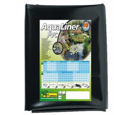 Acheter ubbink b che bassin en pvc 6 x 5 m noir pas cher for Bache en pvc pas cher