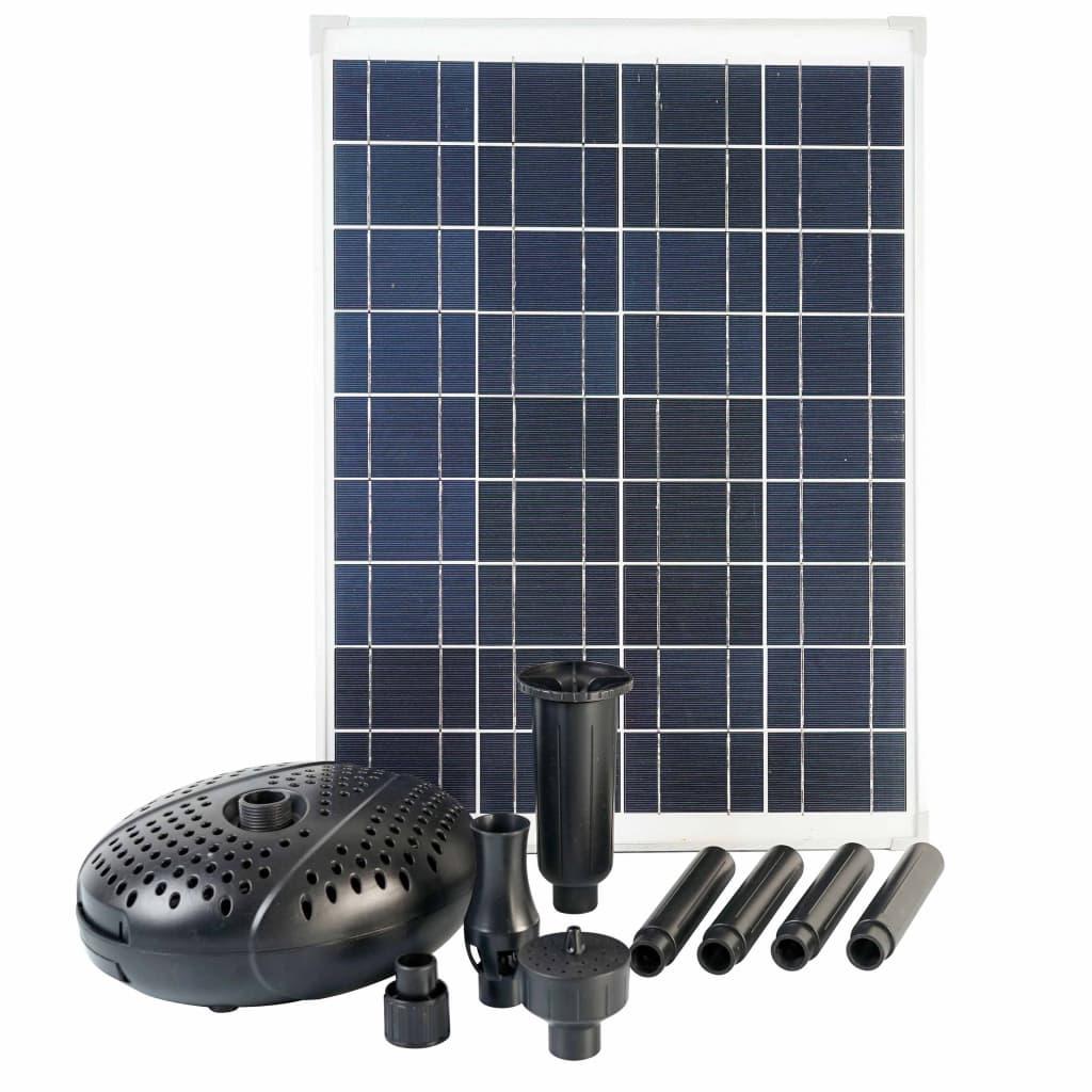Ubbink Set SolarMax 2500 cu panou solar și pompă imagine vidaxl.ro