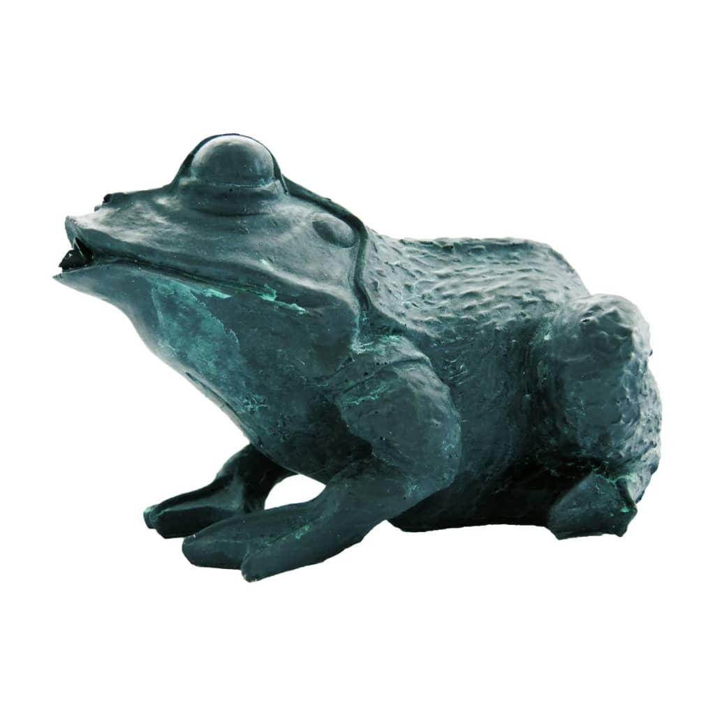 Ubbink Figurină de iaz cu joc de apă, broască, 12 cm, 1386008 poza 2021 Ubbink