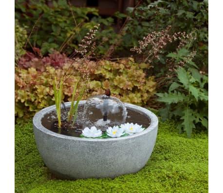Ubbink tang rond avec pompe et n nuphars gris mini bassin for Mini pompe bassin