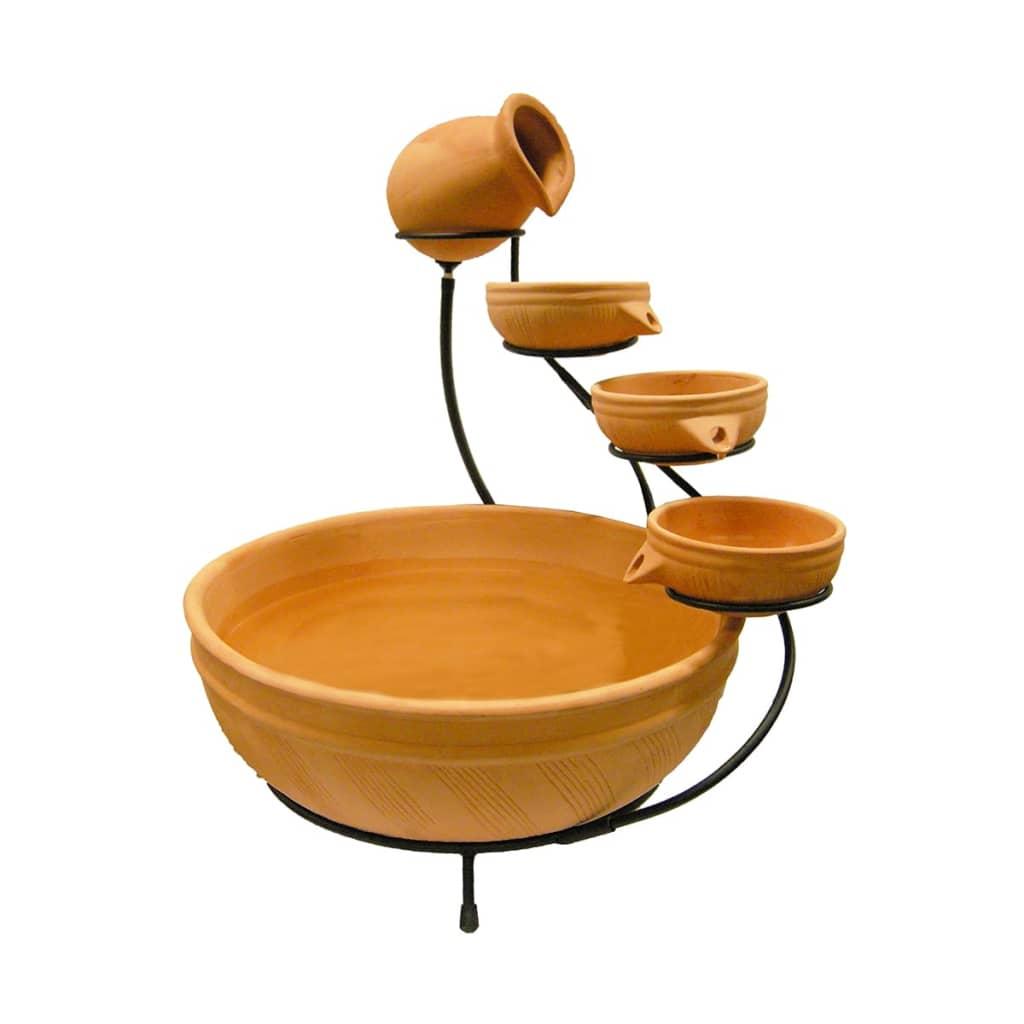 Afbeelding van Ubbink Acqua Arte set Terracotta met waterval element L