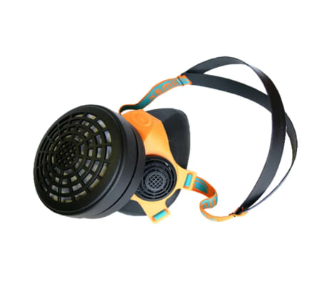 Skandia Dust Half Mask With One Filter Reusable Respirator