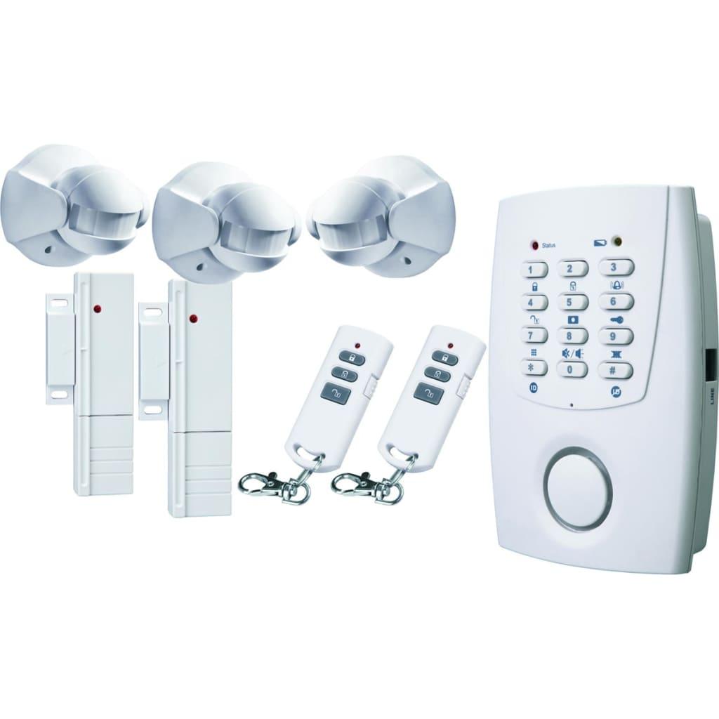Afbeelding van FLAMINGO Draadloos alarmsysteem met telefoonkiezer