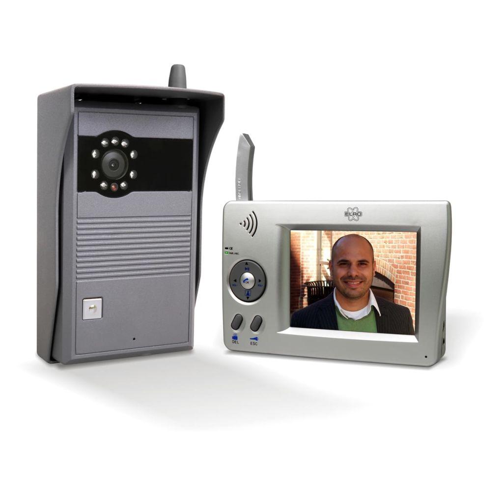 Afbeelding van ELRO Deur Video Intercom Draadloos (Draagbaar)