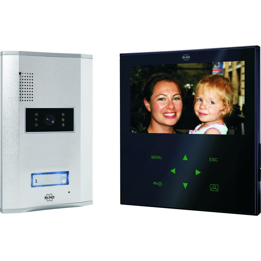 Afbeelding van ELRO Deur Video Intercom met Touch screen (zwart)