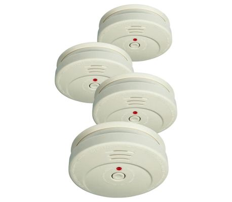 Lot de 4 détecteurs de fumée ELRO RM149C/4