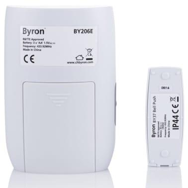 Byron Jeu de sonnette sans fil à pile BY206E avec haut-parleur[9/9]