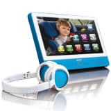 "Lenco Touchscreen Tablet mit DVD-Player 9"" Blau TDV-900"
