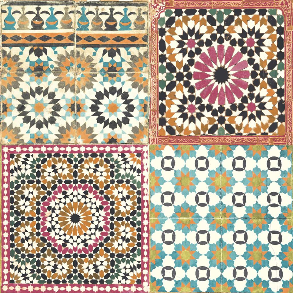 DUTCH WALLCOVERINGS tapet marokkanske fliser flerfarvet