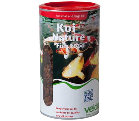 comida para peces koi nature 750 g marca velda