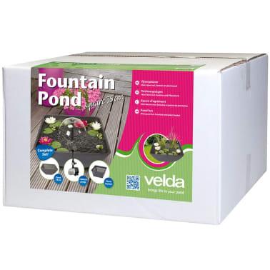 Velda fontana per laghetto quadrato 75x75x35 cm 123516 for Fontana per laghetto