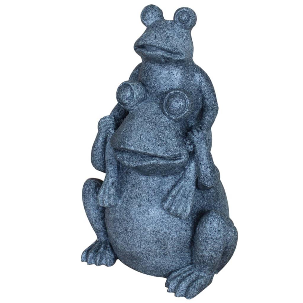 Afbeelding van Velda Vijverstandbeeld twee kikkers grijs 850816