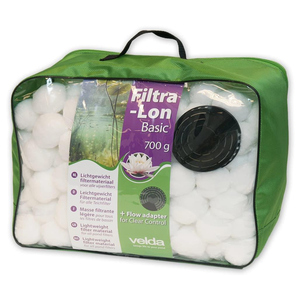 Velda Filtrační materiál do jezírka Filtra-Lon Basic 700 g bílý