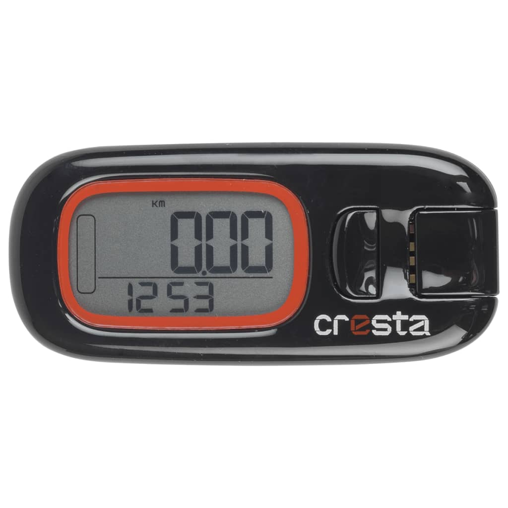 Cresta 3D Digitaler Schrittzähler SPX510 Schwarz 75892.01