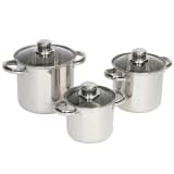"Camp Gear Ensemble de casseroles 3 pièces ""Royal Plus"" 1,3/2/3L"