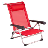Red Mountain Chaise de plage Aluminium Rouge