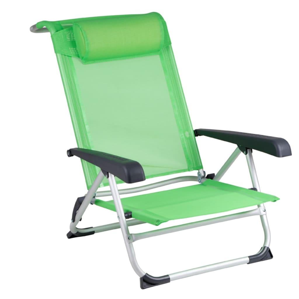 Red Mountain Chaise de plage Aluminium Vert