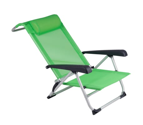 acheter red mountain chaise de plage aluminium vert pas cher. Black Bedroom Furniture Sets. Home Design Ideas
