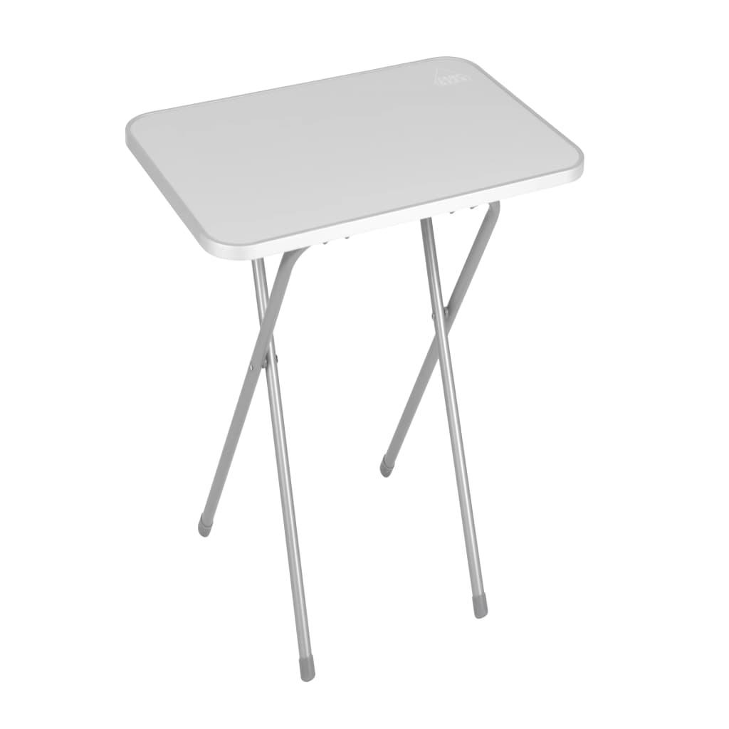 Camp Gear Składany stolik turystyczny, stalowy, szary, 1405060