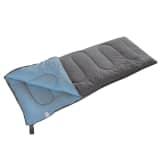 Camp Gear Schlafsack Comfort Plus 220x90 cm Grau und Blau 3605751