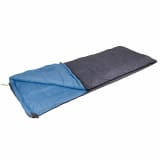 Camp Gear Saco de dormir Comfort Deluxe 220x90 cm gris y azul 3605766