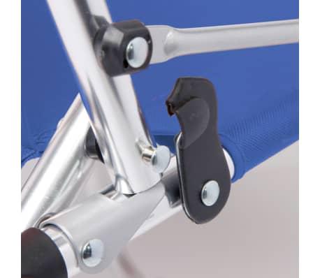 camp gear klappstuhl campingstuhl f r kinder strandstuhl blau aluminium 1211932 ebay. Black Bedroom Furniture Sets. Home Design Ideas