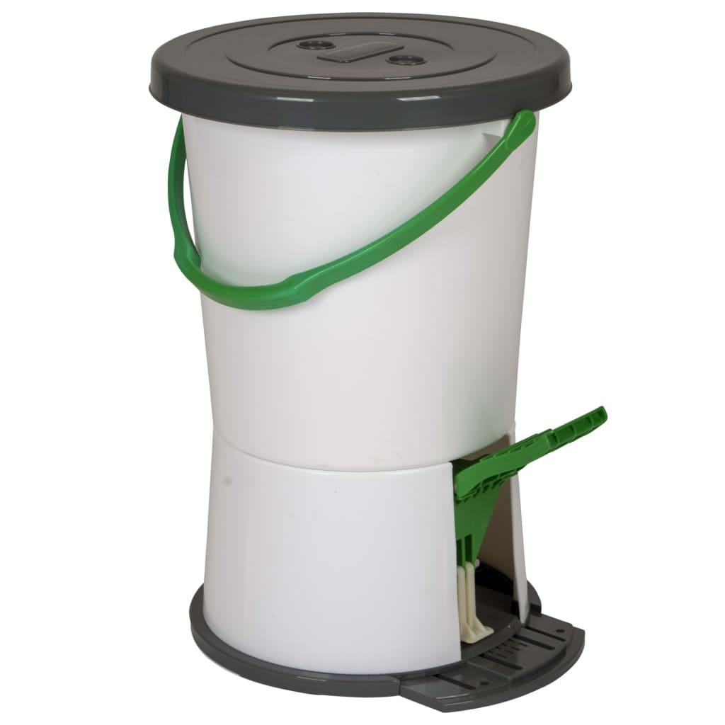 Bo-Camp Mașină de spălat cu pedală de picior, alb imagine vidaxl.ro