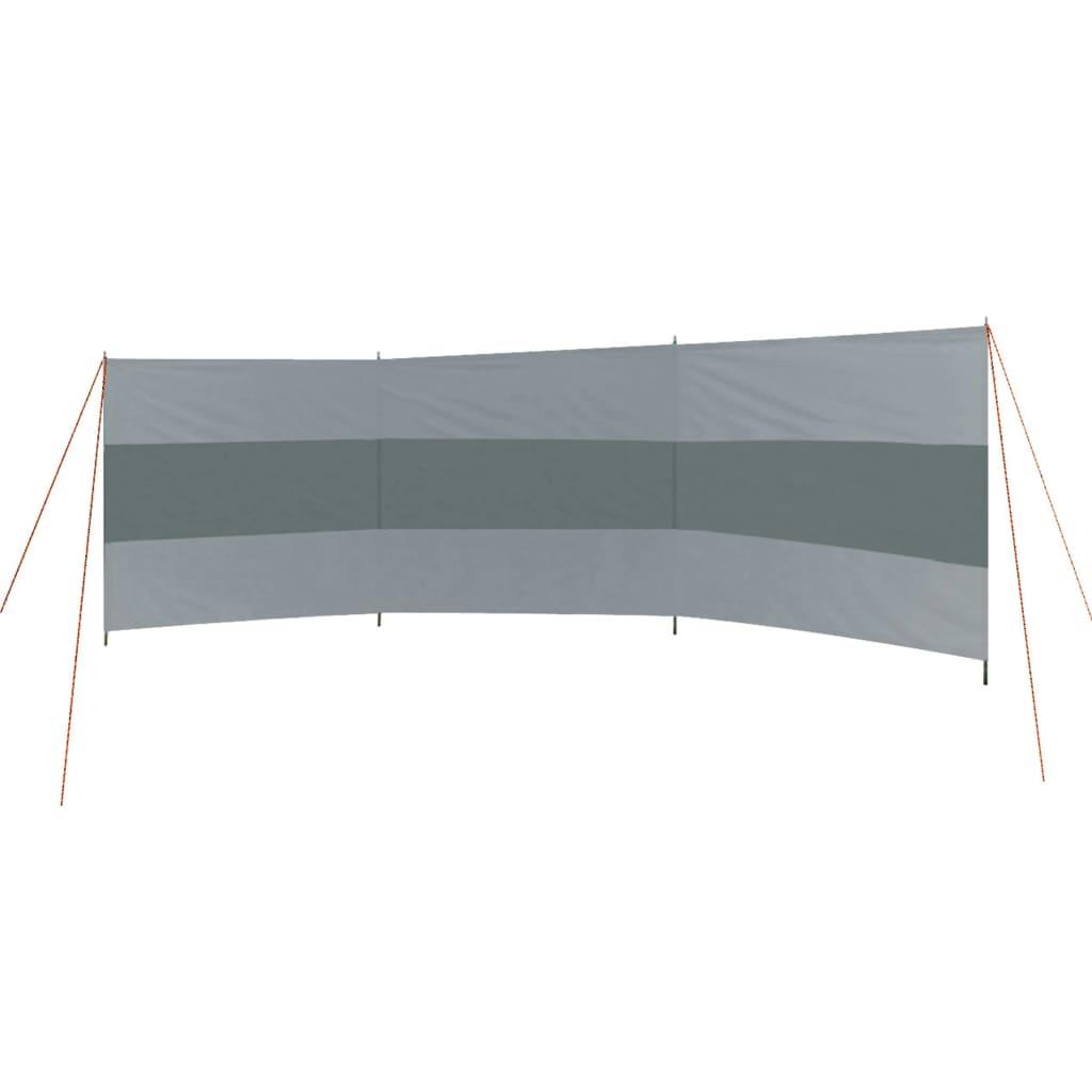 Bo-Camp Paravan Popular, gri și antracit, 500 x 140 cm imagine vidaxl.ro