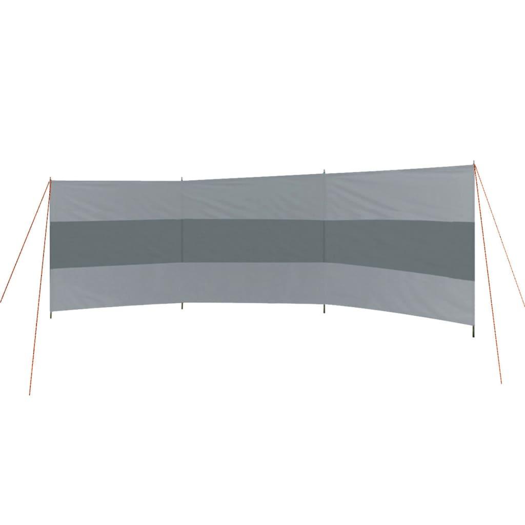Bo-Camp Paravan cu grinzi Popular, gri și antracit, 500 x 140 cm imagine vidaxl.ro