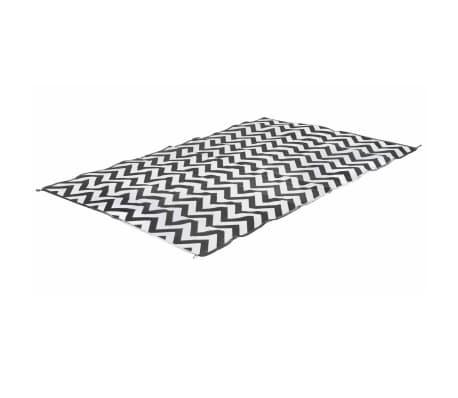 Bo-Leisure Vonkajšia deka 2x2,8 m vlnový dizajn Chill mat L Lounge