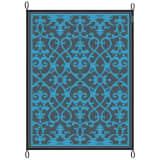 Bo-Leisure Tapis d'extérieur Chill mat Lounge 2,7x3,5 m Bleu