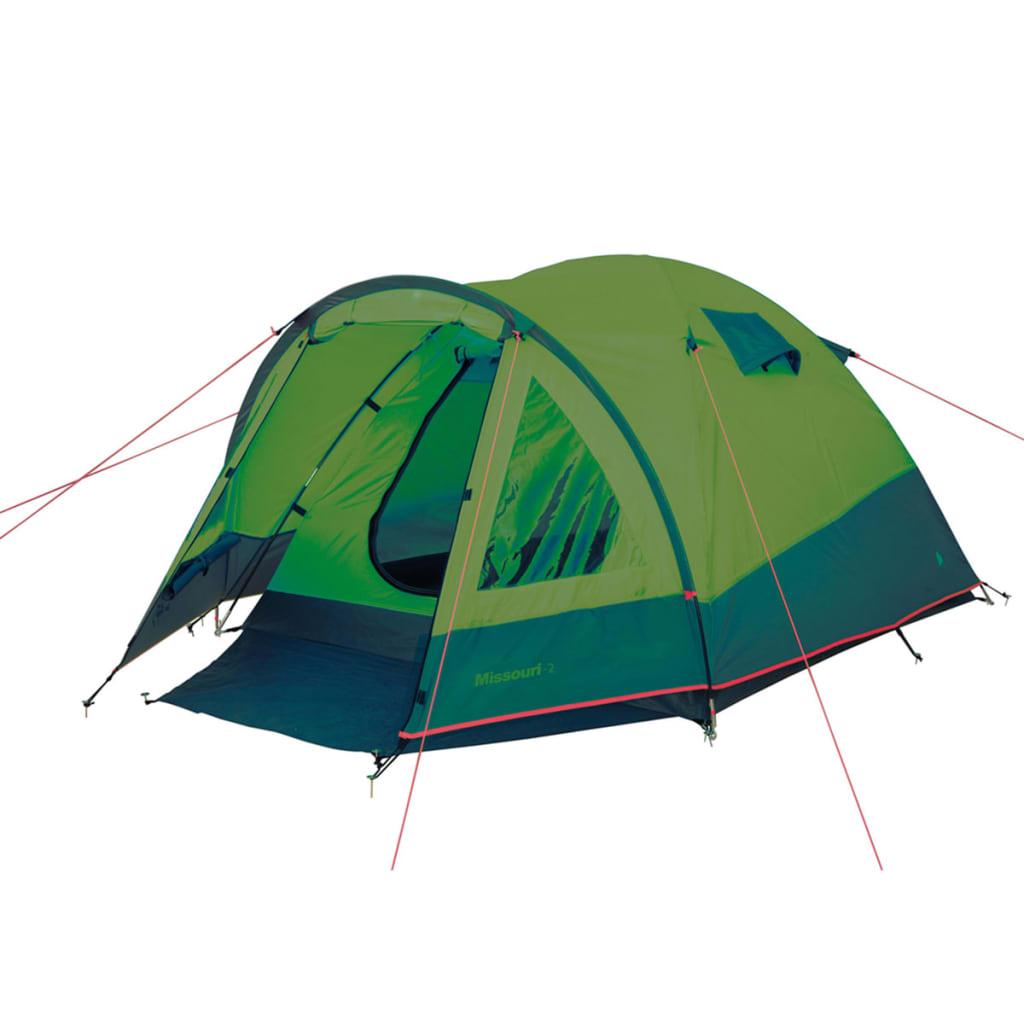 Afbeelding van Camp Gear 2 persoons tent Missouri 280x155x115 cm groen 4471525