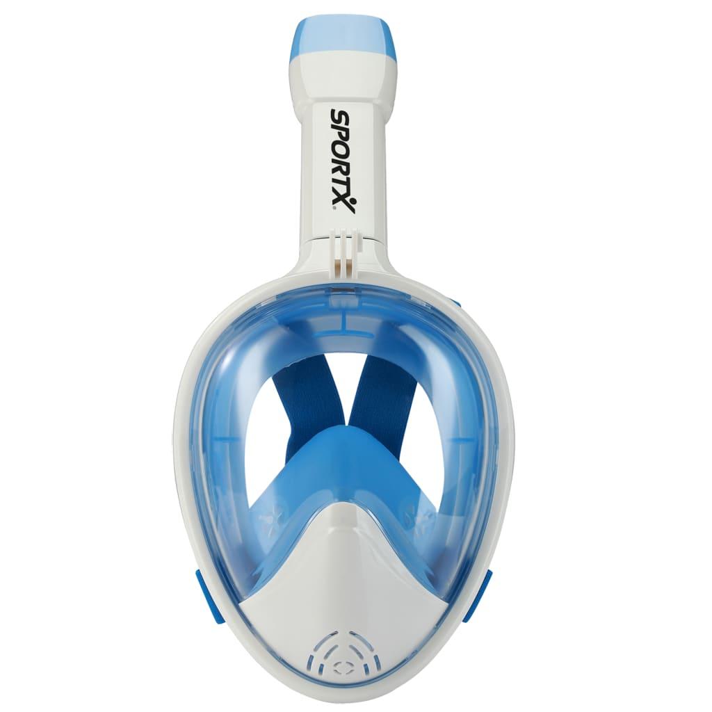 SportX Snorkelmasker volgelaat maat XS blauw 2000018