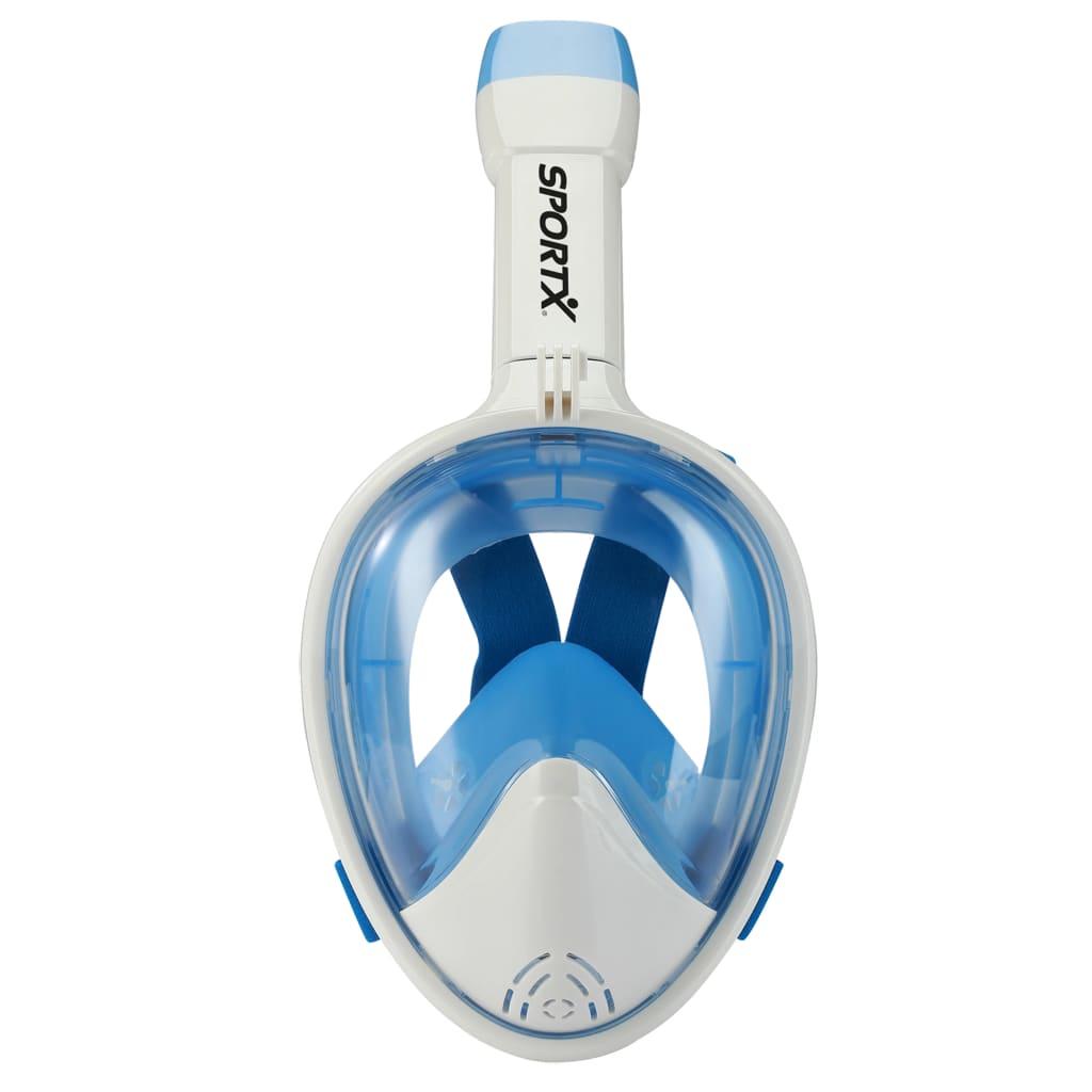 SportX Snorkelmasker volgelaat maat L/XL blauw 2000020