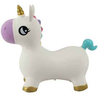My Skippy Buddy Animal gonflable Unicorn Blanc 0724923[4/5]