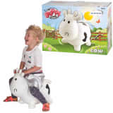 Mon Skippy Buddy Animal bondissant Skippy Cow Blanc KH1-23
