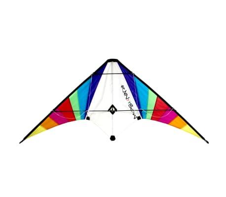 RHOMBUS Regenbogen-Stuntdrachen150 x 70 cm
