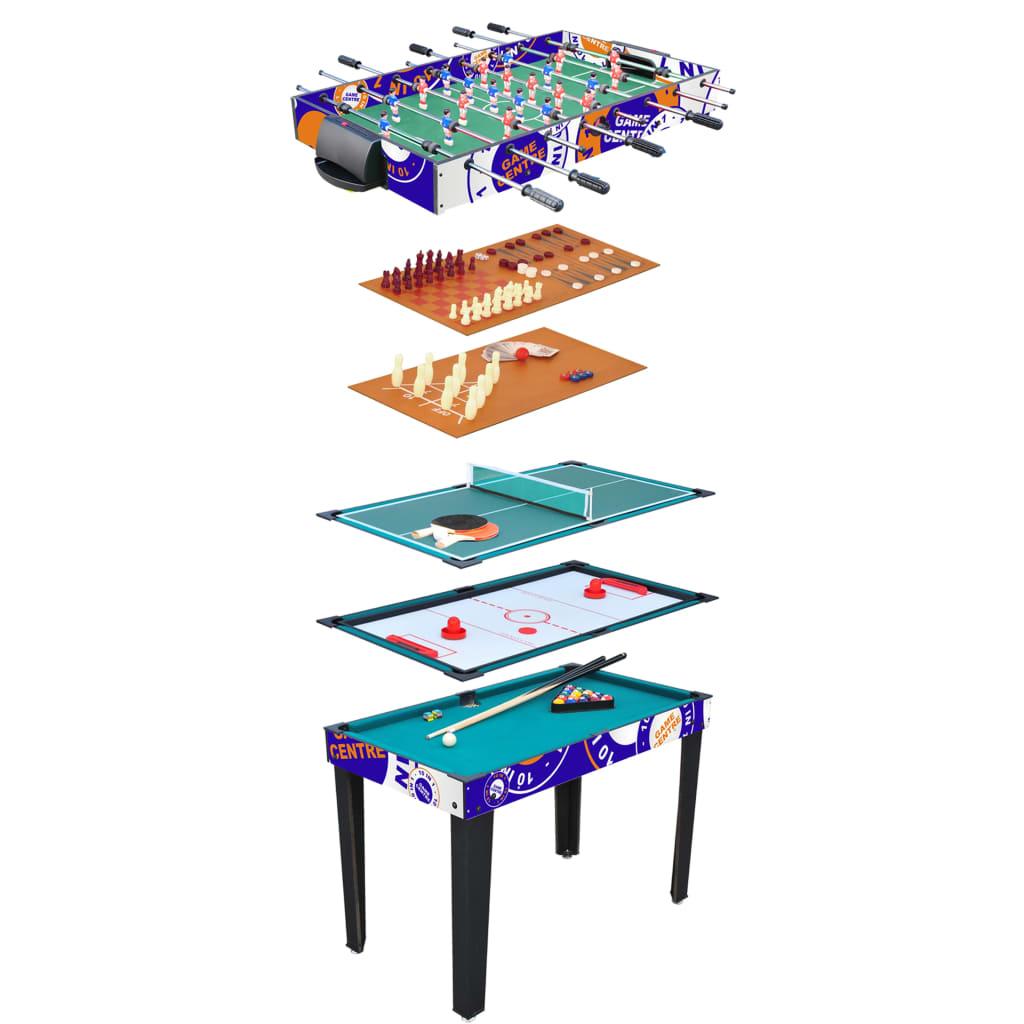 99425664 Van der Meulen 10-in-1 Multifunktionsspieltisch