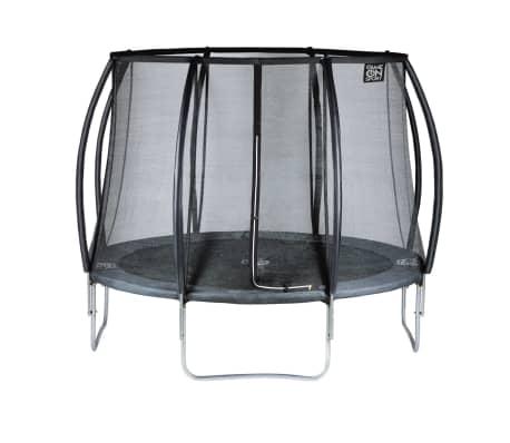 game on sport trampolin mit sicherheitsnetz black line 244 cm 0723081 zum schn ppchenpreis. Black Bedroom Furniture Sets. Home Design Ideas
