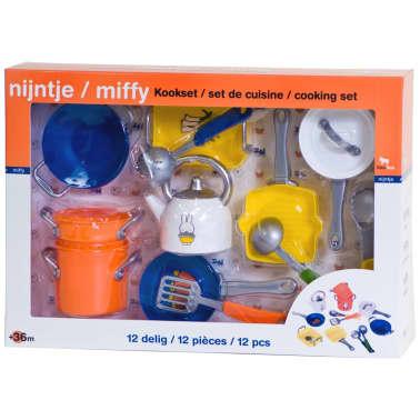 Miffy Set de utensilios de cocina de juguete 12 uds 0478015[2/2]