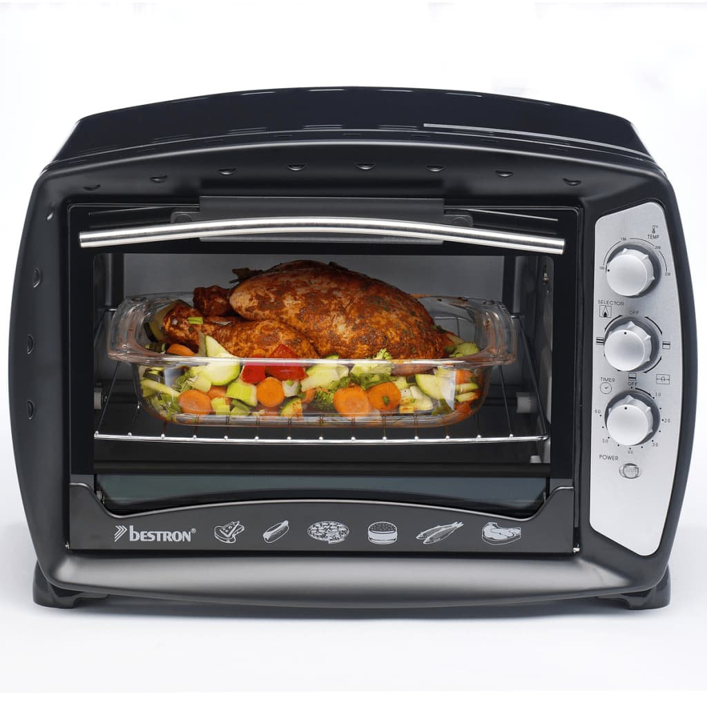 Afbeelding van Bestron AGL30 oven met grill- en heteluchtfunctie 26 L