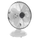 Bestron Stolní retro ventilátor 30 cm bílý DFT25W