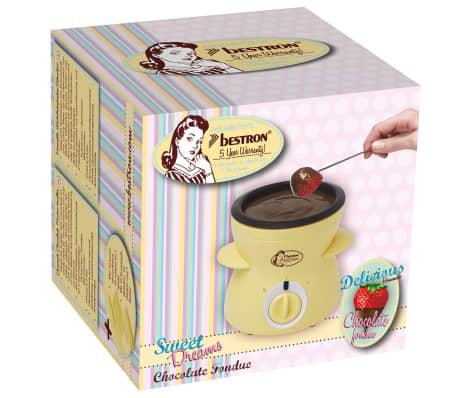 acheter appareil fondue au chocolat compact 25 w bestron dcm043 pas cher. Black Bedroom Furniture Sets. Home Design Ideas