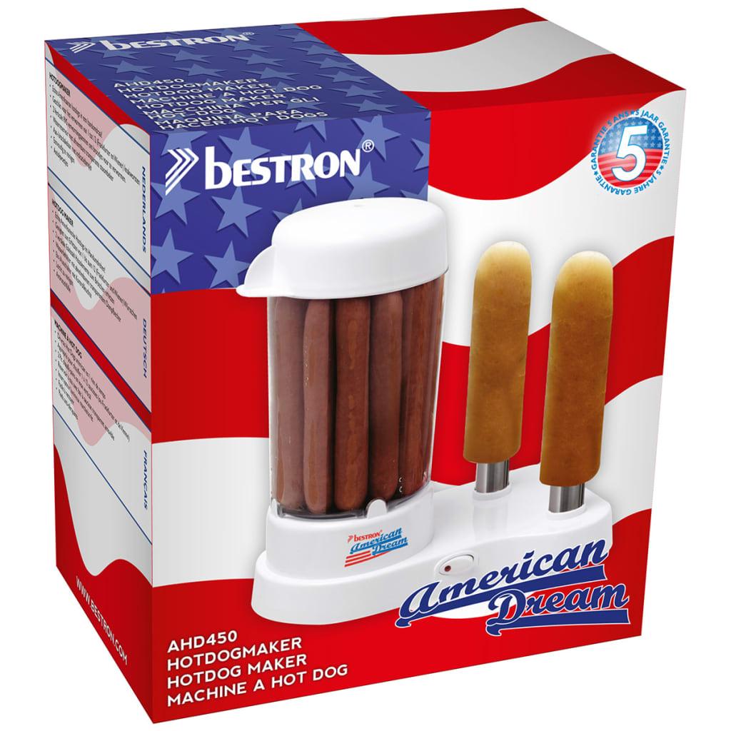 Bestron hotdog maker 450 W wit AHD450