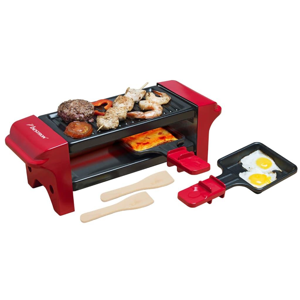 Bestron Appareil à raclette gril multi-cuissons Barbecue de table 350 W AGR102 3