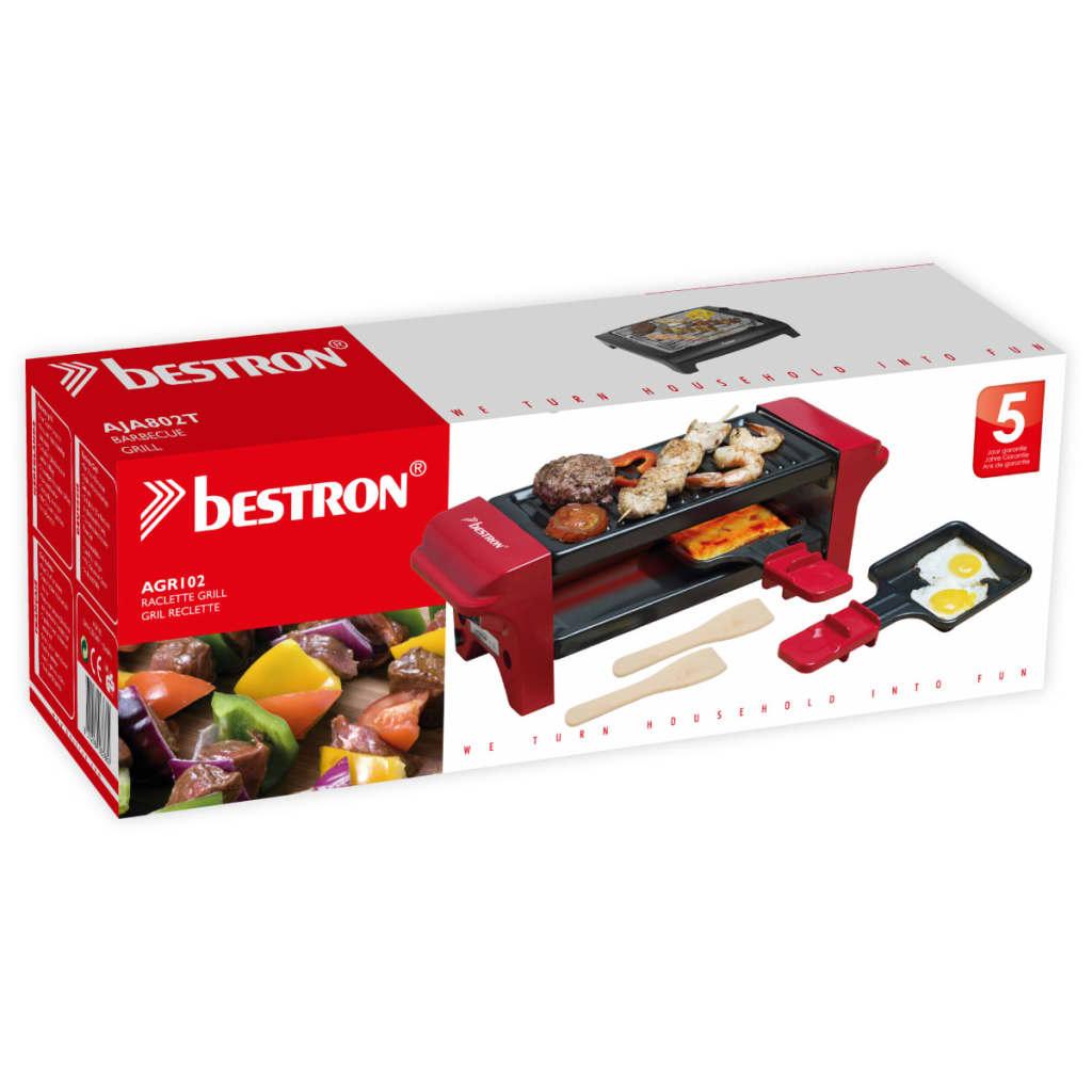 Bestron Appareil à raclette gril multi-cuissons Barbecue de table 350 W AGR102 4