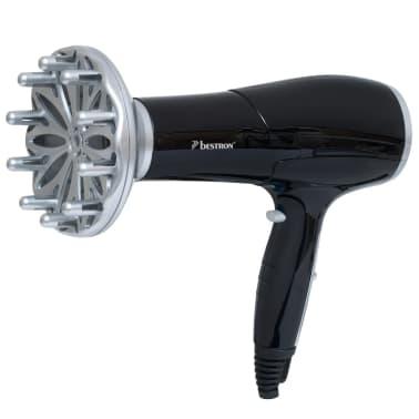 Bestron Hairdryer 2000 W Black AHD2000Z[3/4]