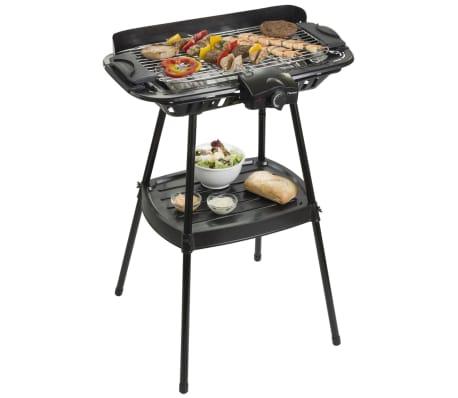 Bestron AJA902S Freistehender Grill Barbecue auf Ständer 2000 W