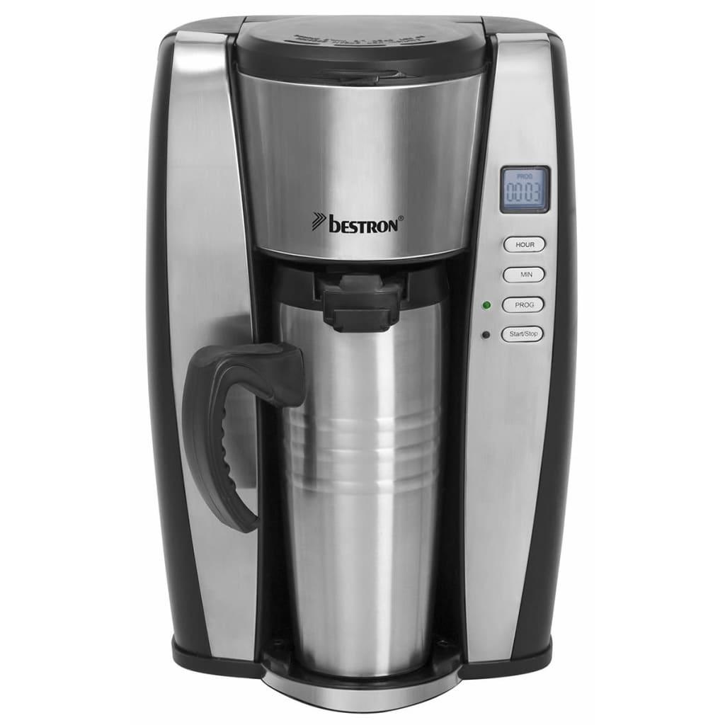 Afbeelding van Bestron Koffiezetapparaat 650 W 400 ml zilver ACUP650