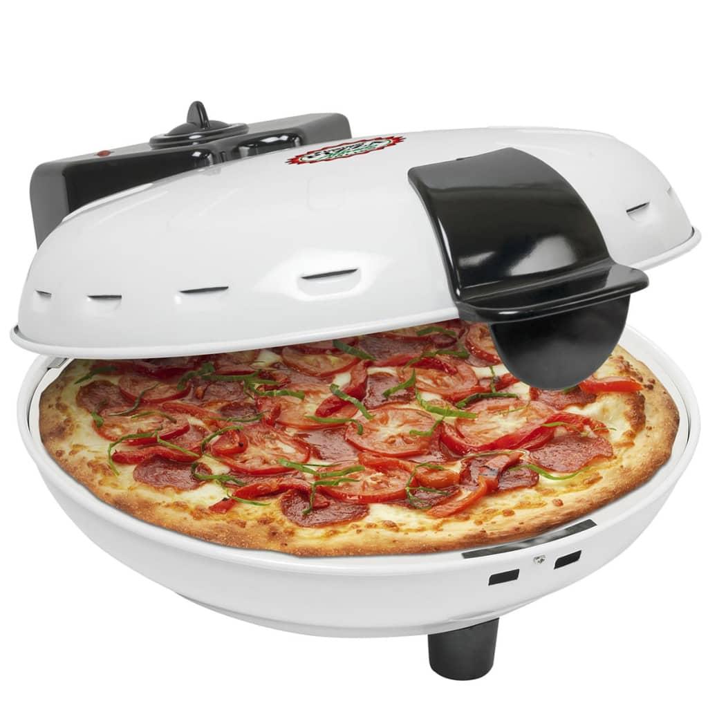 Image of Bestron DLD9036 Forno per Pizza in Pietra Refrattaria 1000 W Bianco